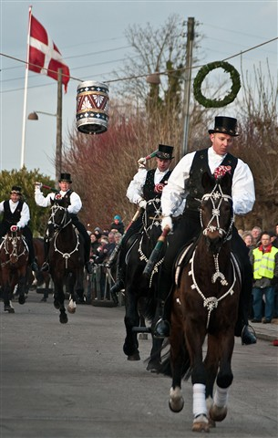 Shrovetide riding