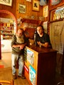 Bibiche, the Beardman and the Barman in the only Bar of la Berarde