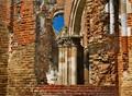 Ruins of Araca monastery, Vojvodina, Serbia