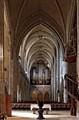 Inside the Lutheran Church in Hermannstdt / Sibiu