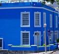 Blue pad in bo kaap cape town