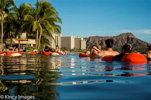 Sheraton Waikiki's Infinity Pool