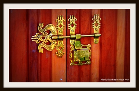 Manachitrathazhu door lock