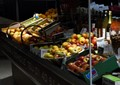 Early morning at the fruitstand