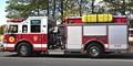 """Mastic Beach N.Y. firetruck called """"The Beast""""."""