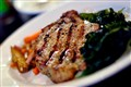 Grilled Pepper-Crusted Pork Chop