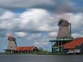 windmills in Zaanse Schans / Nethrelands