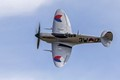 The only airworthy Spitfire in the Netherlands, taken at the Historic Grand Prix at Zandvoort.