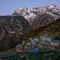 Kongde Ri peak 6,187m guarding Sherpa's Capital - Namche Bazaar - Nepal - Everest Base Camp - April 2017