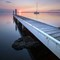 Dawn view of a jetty at Lake Macquarie