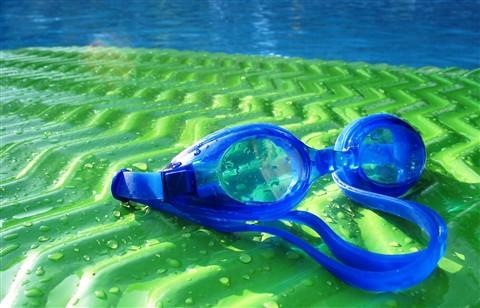 End of swim