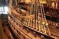 Port side of the Vasa (Swedish warship)