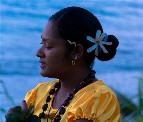 Dancer, Taveuni Island, Fiji