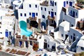 Buildings of santorini