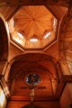 Timbered interior
