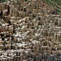 Hexagonal Rock Formation - Hong Kong Geopark