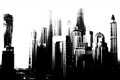 Dubai Lifeless Skyscrapers