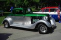 green hot rod at dad fest