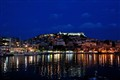Blue hour at Kavala, Northern Greece