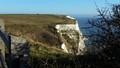 Kent Coast Dover white cliffs of England
