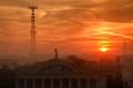 Sunrise in Minsk