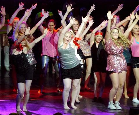 Dance School Chorus Line
