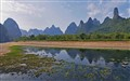 Karst scenery of the Li River, China