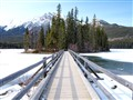 The Wooden Bridge on Pyramid Lake