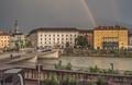 Sun, rain and rainbows in Innsbruck