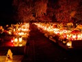 All Saints Night in Poland