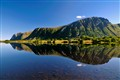 Lofoten reflection