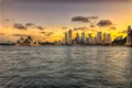 Sydney City by Twlight