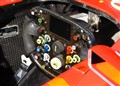 Ferrari F2002 Cockpit