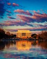 First Light - Lincoln Memorial
