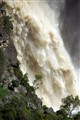 Mihi Falls in flood