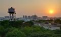 Sunrise in Hyderabad