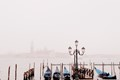 Venice, with some  fog