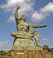 Peace Statue. Nagasaki, Japan