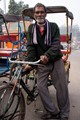 Tricycle owner in Delhi