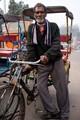 Rickshaw rider