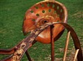 Tractor Seat and Wheel-