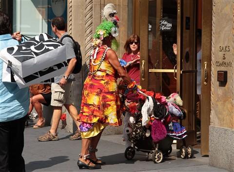Photograph of Saks Fifth Avenue New York City