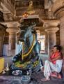 India: Pattadakal; Contemplation