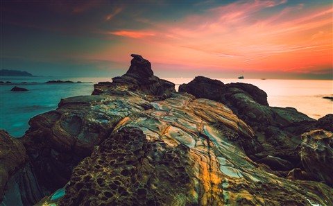 Rocks at Dawn