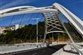 New bridge over the River Miño, Lugo