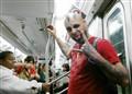 guy on subway