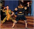The swordfight