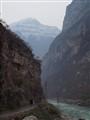 The Jinkou river gorge, Sichuan, China
