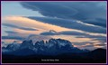Sunset at Torres del Paine, Chile