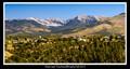 Vista near Truchas, NM early Fall 2013